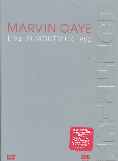 LIVE IN MONTREUX 1980 BY GAYE,MARVIN (DVD)